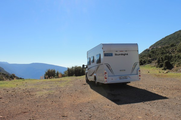 Explore the most beautiful places with the camper